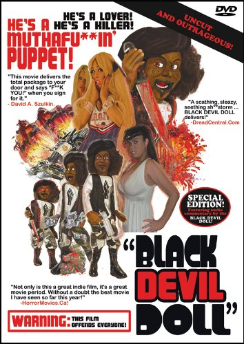 He's back, he's black, and he's a mother-effin puppet, and we ain't kidding, MotherF***er!